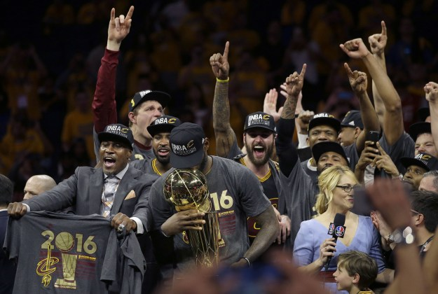 The Cleveland Cavaliers became the NBA champions for the first time in franchise history on Sunday, and everyone was totally overwhelmed.