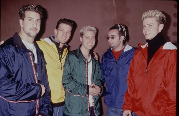 NSYNC in 1999.
