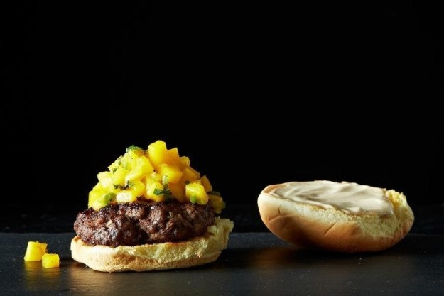 Five Spice Burgers with Gingery Mayo