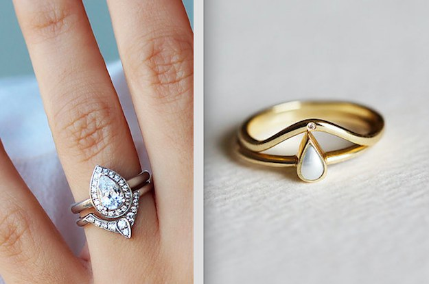 19 Stunning Stacked Wedding Ring Sets Youll Say Yes To