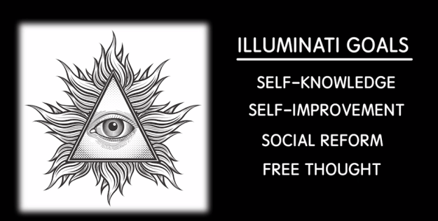 The Order of the Illuminati had an anti-religious stance and focused on self-knowledge, self-improvement, social reform, and free thought. Conservatives soon considered this a threat to the church and they put a stop to the Illuminati by the late 1780s.