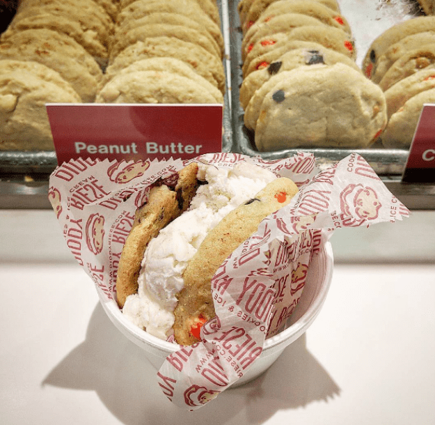 Ice Cream Sandwich at Diddy Riese