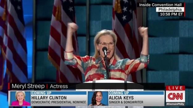 DNC: Meryl Streep