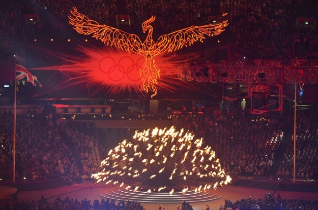 So let's rewind to 2012. It was the summer Olympics in London, and a phoenix presided over all.