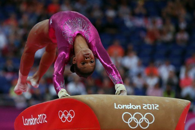 All of the humans competing in events were basically superheroes, and the gymnasts were particularly memorable.