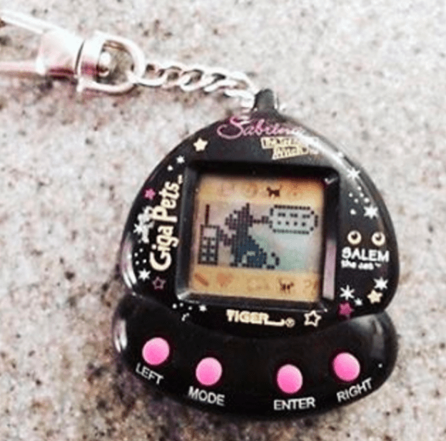 Your kid doesn't have to stress about their Giga Pet dying while they're at school.