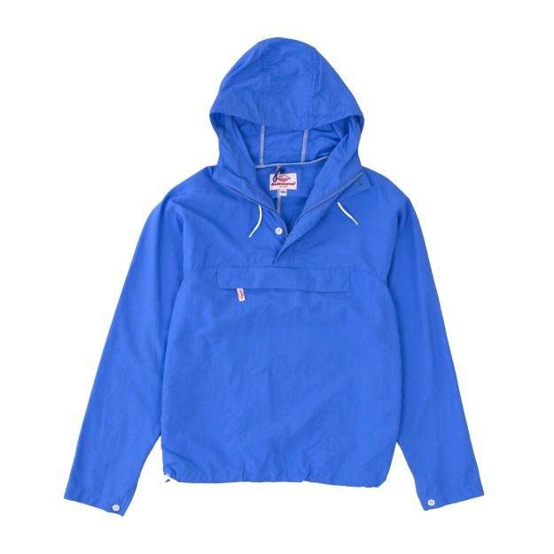 A wind- and water-resistant anorak that packs into its front pocket, $256