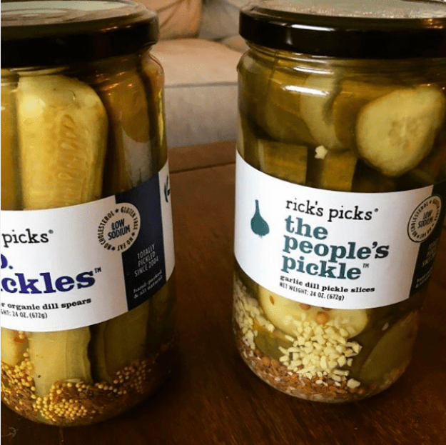 Pickles and pickled veggies from Rick's Picks, NY