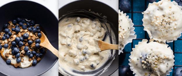 Turn a yogurt parfait into a frozen treat.