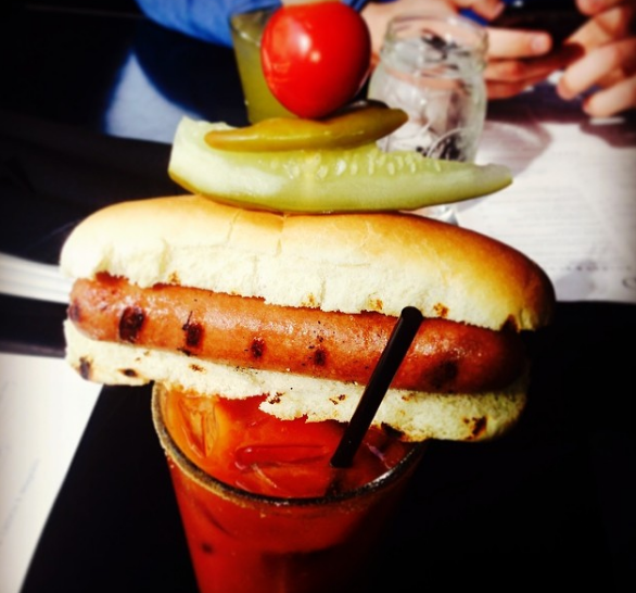The insane Bloody Mary setup that The Grid in Chicago sells probably ruined all other alcoholic drinks for you.