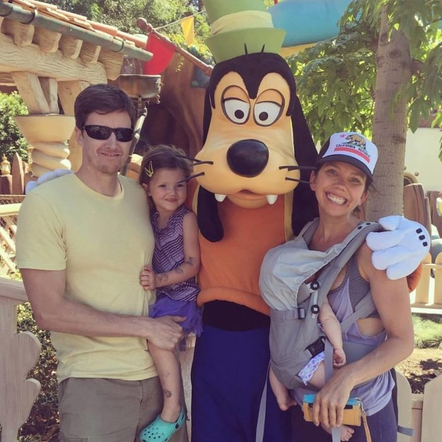 This is the Kessler family from Los Angeles. Mom Carri and dad Will have two young daughters, 3 year old Hadley and 4 month old Margot.