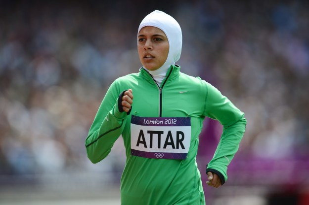 Saudi Arabia only began allowing women to compete in the Olympics in 2012. The first woman to race was Sarah Attar, who came in last in her 800-meter heat during the London Olympics.