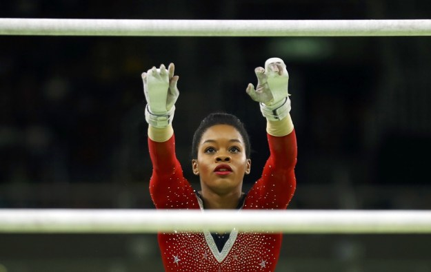 Olympic all-around gold medalist Gabby Douglas recently became a three-time gold medalist by being a member of the champion U.S. women's team in Rio.