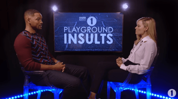 """The two actors participated in a game called """"Playground Insults,"""" where they were asked to essentially say really rude things about one another."""