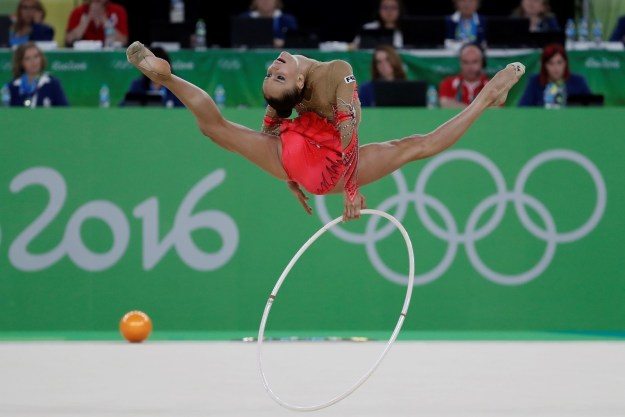It's true, rhythmic gymnastics is not nearly as well known in North America as its sibling discipline, artistic gymnastics.