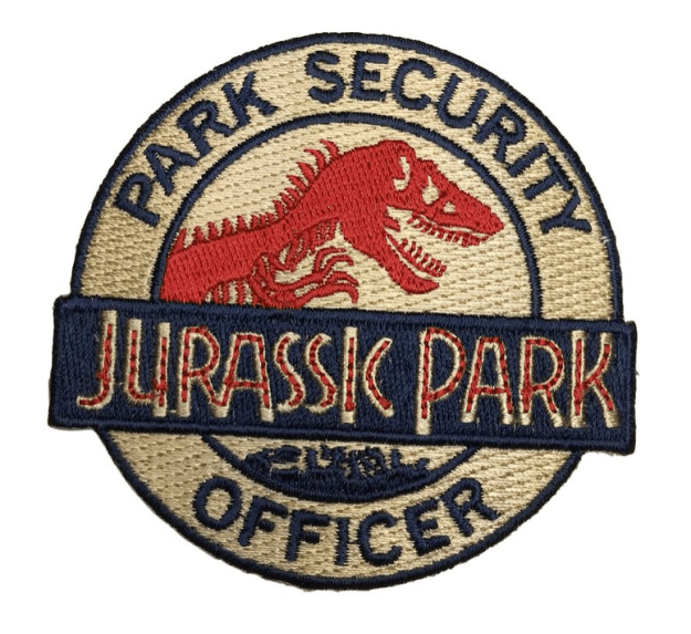 "A patch that'll have people asking you, ""How do I get to the T. rex enclosure?"""