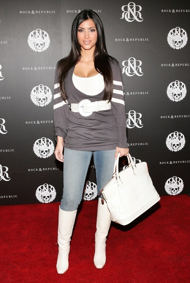Kim's cameo was filmed two years before she found fame in 2007, at a time when The Hills was the biggest show on TV. Landing a spot on The Hills basically ensured overnight stardom.