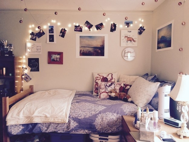 14 Amazingly Decorated Dorm Rooms That Just Might Blow Your Mind  quot My freshman dorm at Brown University  Recurring themes include foxes   octopuses
