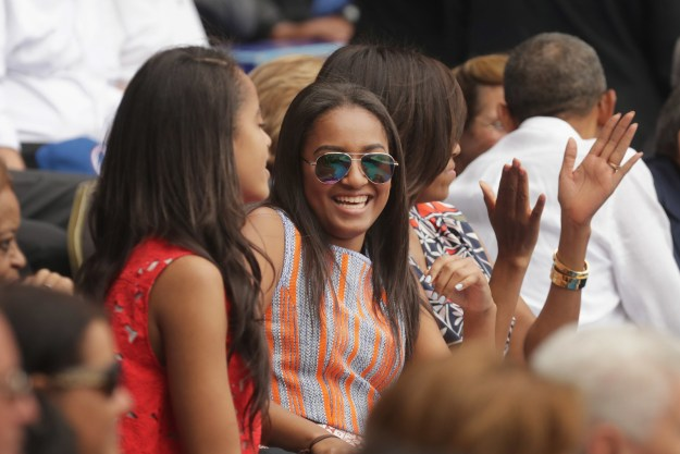 Sasha Obama may be the president's daughter, but she's proving she's just like us by getting a summer job fitting of an average teen.