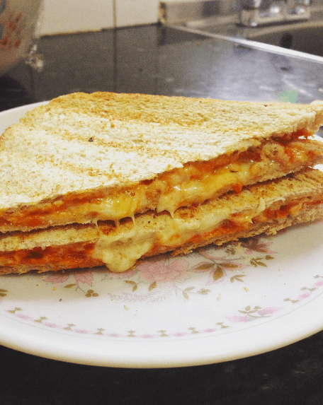 A cheese toastie isn't exactly a magical creation. It's pretty boring tbh.