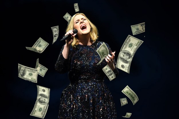 And, of course, it's not like Adele doesn't have the money, she's reportedly worth an estimated $125 million.