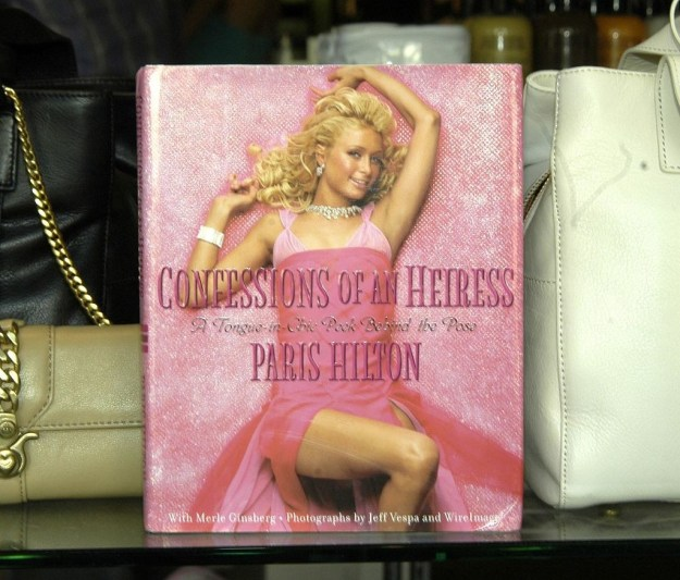 And of course, Kitson also sold lots of Paris related stuff, like her book Confessions of An Heiress.