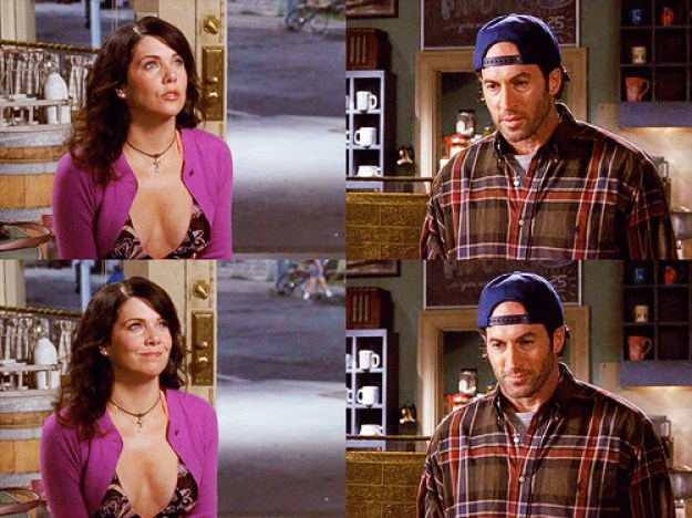 And when Lorelai proposed.