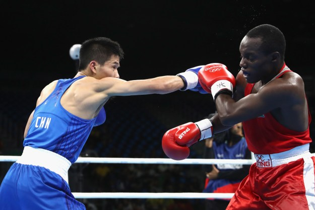 The final outcome of the match came down to the judges, with a narrow decision ultimately advancing the Kenyan boxer to the quarterfinals.
