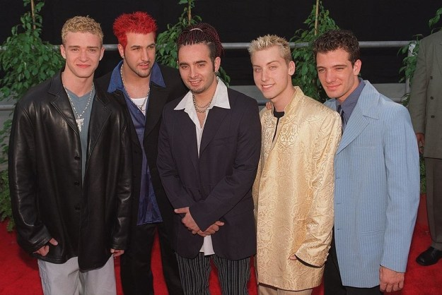 This is one of the most* iconic boy bands of our time, the legendary NSYNC.