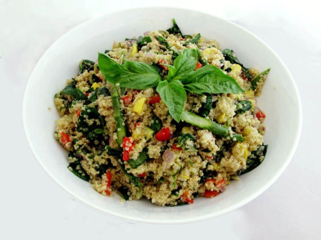 Sheryl Crow's Roasted Spring Vegetables With Quinoa