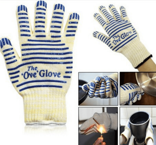The Ove Glove, to stop you from burning your hand off.