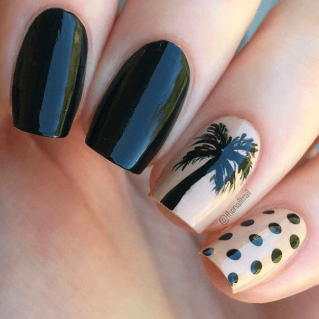 Or this one for those times when your love for black can't stand up to your love of the beach: