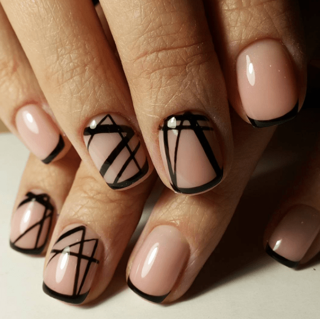 These nails are perfect for anyone with an artistic flair: