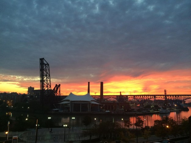 Because there's nothing like that Cuyahoga sunset.