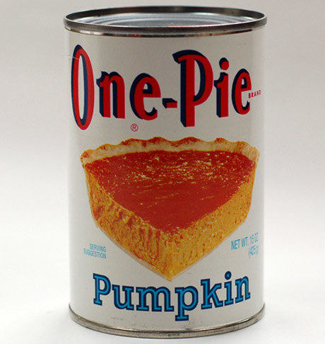 You know canned pumpkin?