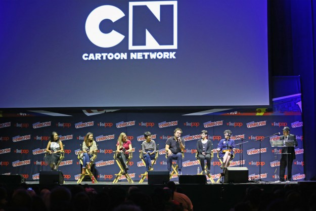 This weekend at New York Comic Con, beloved showrunner and human gem Rebecca Sugar spoke on the panel for her hit animated series, Steven Universe.