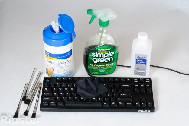 Deep clean your mechanical keyboard using the following detailed technique, taking the keys off every few cleans.