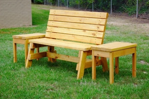 Save cash on pricey patio furniture and build a set for yourself.