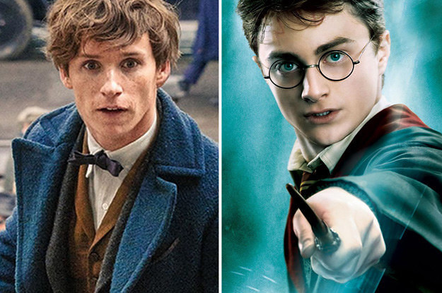 Image result for harry potter and newt scamander