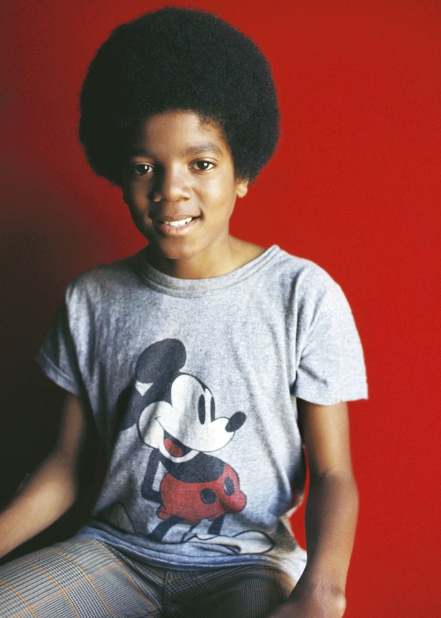 Michael Jackson as a 13 year old in 1971.