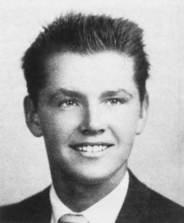 Jack Nicholson as an 18 year old in 1955.