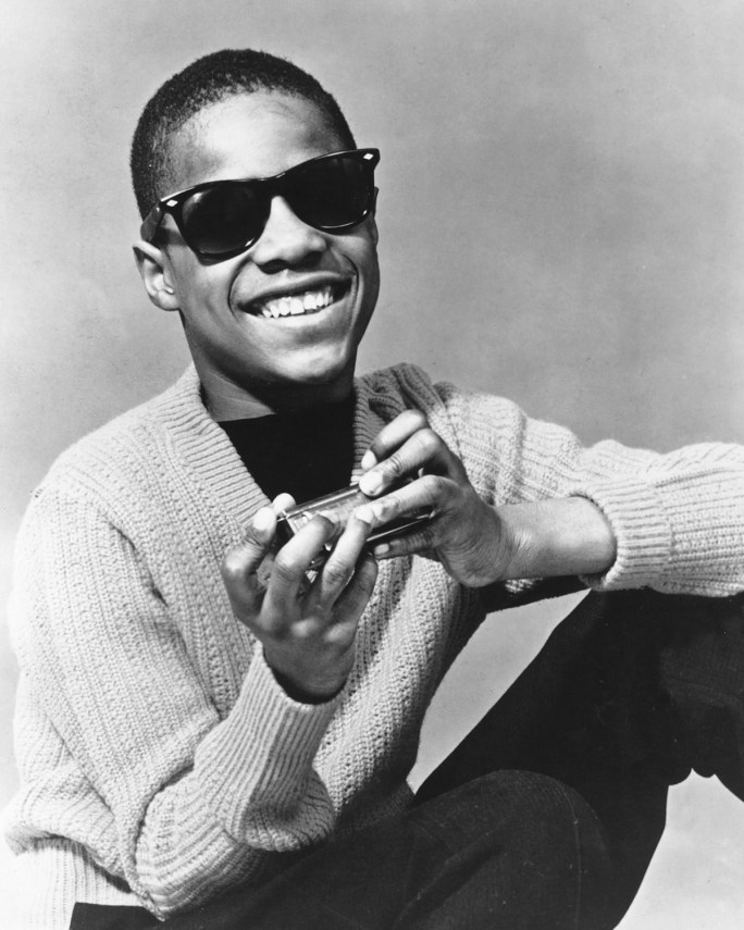 Stevie Wonder as a 14 year old in 1964.