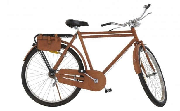 Here, have a leather bicycle.