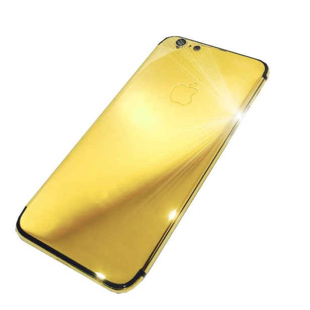 Do you still have a regular ol' iPhone? Sad! Get a 24-ct gold phone.