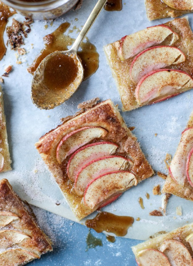 Cinnamon Sugar Apple Puff Pastry