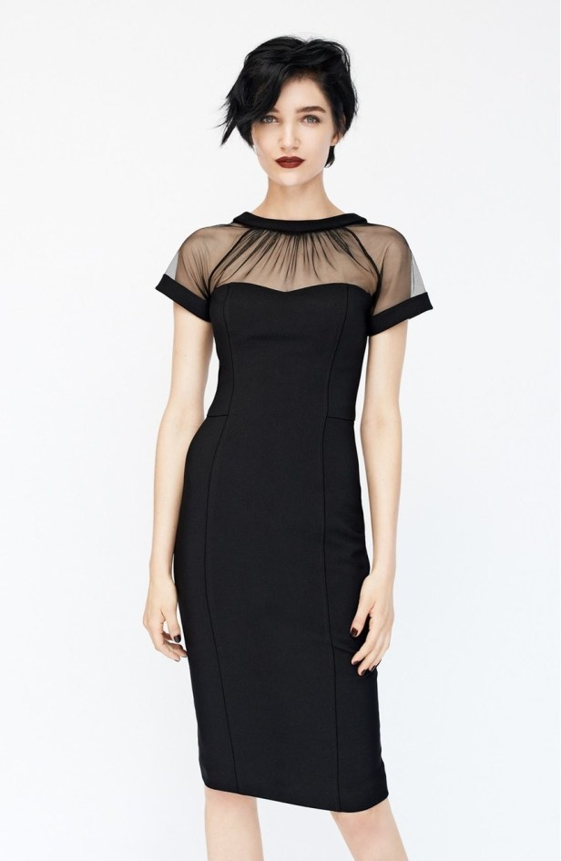 This Maggy London sheath that's sexy and sophisticated.