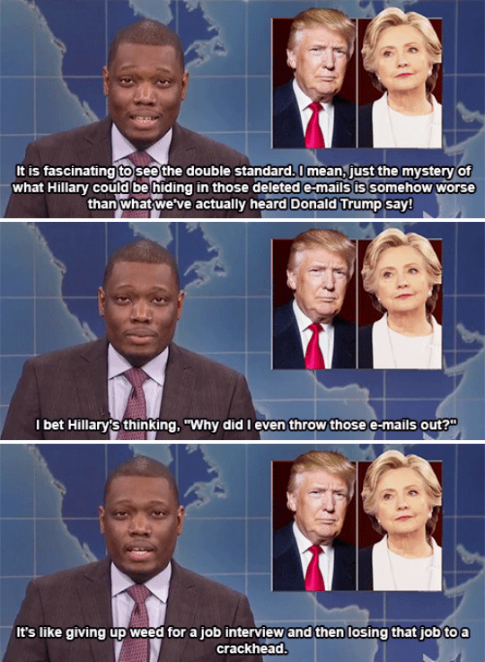 When Michael Che said what we've all been thinking about those damn emails.