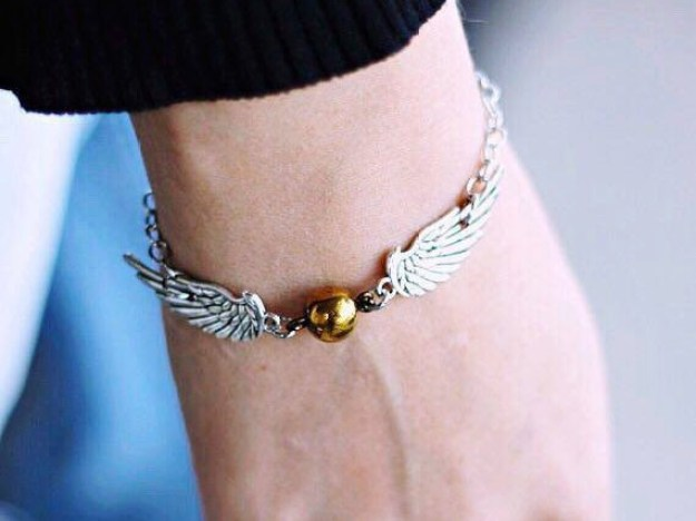 A Golden Snitch bracelet that you would totally use as your Horcrux.