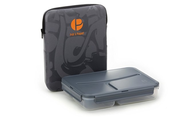 And while you're at it, you might as well take your lunch on the go with this insulated lunchbox.