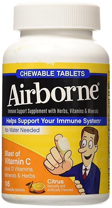 Nothing sick about being sick. Make sure your immune system is doing A+ work this semester with this bottle of 116 chewable vitamin C tabs.